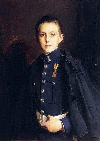 Infante Juan, Count of Barcelona - Portrait by Philip de Laszlo, 1927