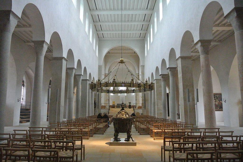 Innenansicht des Hildesheimer Doms