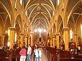 Inside of the Basílica Menor Divino Salvador de Ubaté 1.jpg