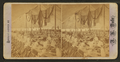 Inside the tent at Vanceboro Grand International banquet, from Robert N. Dennis collection of stereoscopic views.png
