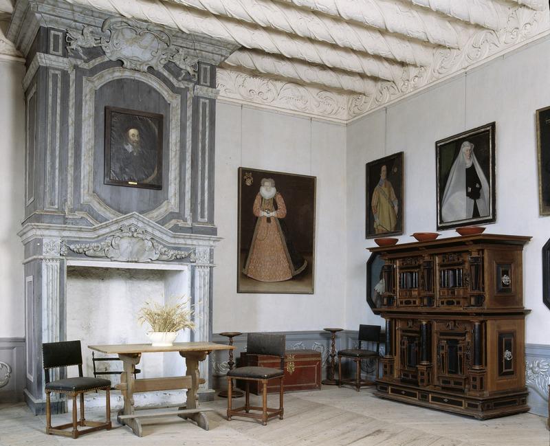 Interiör. Gästrumsvåningen. Magdeburg - Skoklosters slott - 64786.tif