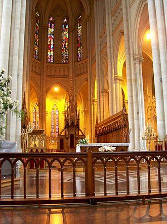 Cathedral of La Plata - Image: Interior de la Catedral de La Plata