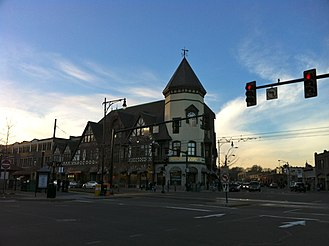Coolidge Corner - Intersection of Harvard and Beacon Streets, Coolidge Corner, Brookline, MA