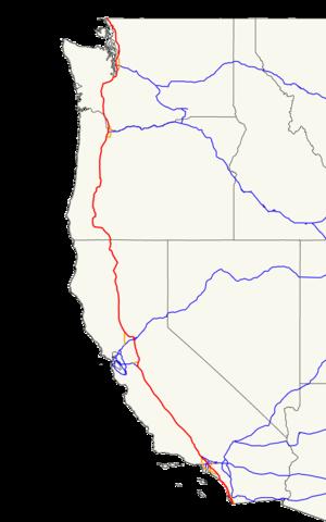 Hyperloop - Interstate 5