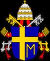 Brasão pontifical de São João Paulo II