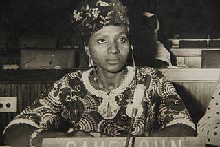 Isabelle Ebanda Cameroonian politician