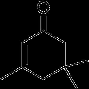 Isophorone - Image: Isophorone