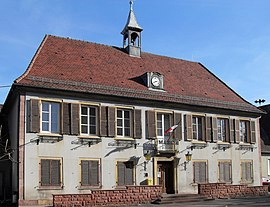 The town hall in Issenheim