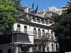 Argentina–Italy relations - Image: Italian Embassy, Buenos Aires 02