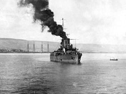 Italian cruiser Pisa at Derna 1912.jpg