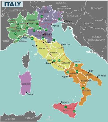 Italia  Wikiviajes