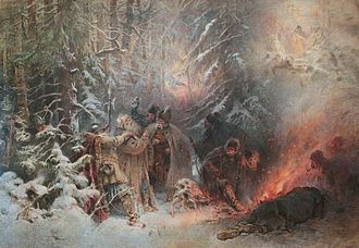 Ivan Susanin - Ivan Susanin (Konstantin Makovsky, 1914)