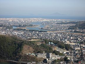 Iwakuni view from Iwakuni Castle.jpg