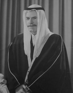 Izzat Ibrahim al-Douri - Portrait of Izzat Ibrahim al-Douri