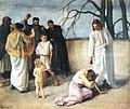 Järnefelt, Jeesus ja aviorikoksesta tavattu nainen.jpg