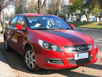 JAC Motors - Image: JAC B15 2011