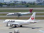 JAL EM-170 JA224J at ITM (28619338195).jpg
