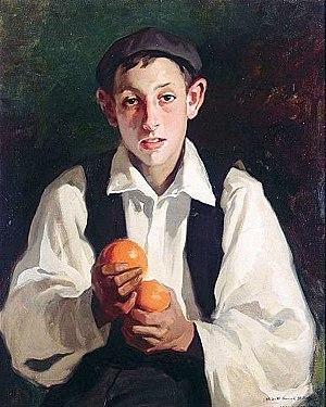 Julio Vila y Prades - Image: JVP Niño con naranjas