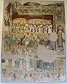 Jacopo di mino del pellicciaio, maestà e profeta, 1396, da s. francesco convento 01.JPG