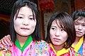 Jakar tshechu, Dzongkhag dancers (15659838009).jpg