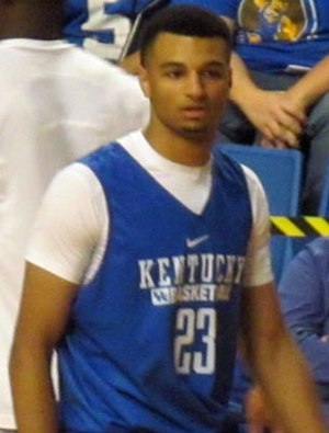 Jamal Murray - Murray in Kentucky's 2015 Blue-White scrimmage