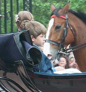James, Viscount Severn - Viscount Severn in 2016