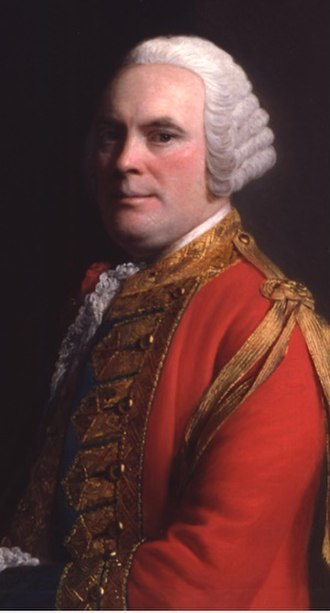 James Abercrombie (British Army officer, born 1706) - General James Abercrombie, by Allan Ramsay