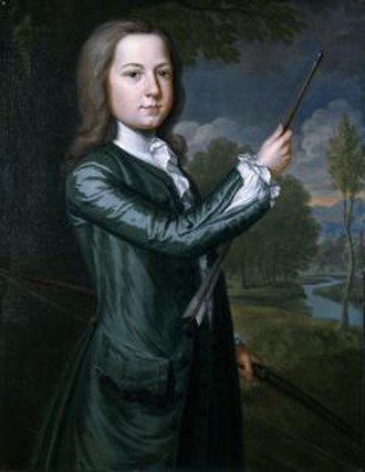 James Bowdoin - Portrait of Bowdoin as a child by John Smibert