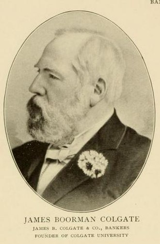 New York Gold Exchange - James Boorman Colgate, one of the founders of the New York Gold Exchange, and its president for a time
