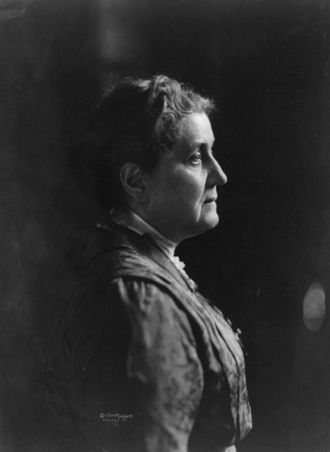 Social feminism - Jane Addams was a social feminist who supported women's suffrage.