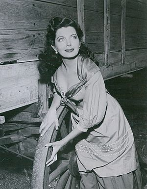Poni Adams - Adams in 1952