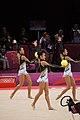 Japan Rhythmic gymnastics at the 2012 Summer Olympics (7915444124).jpg