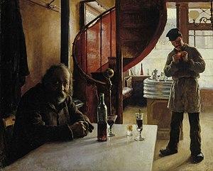 Eero Järnefelt - Image: Jarnefelt Eero Ranskalainen viinikapakka 1888