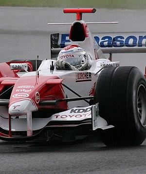 Mike Gascoyne - Jarno Trulli 2005 Toyota TF105