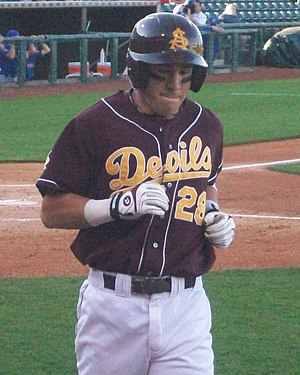 Jason Kipnis - Kipnis with the Arizona State Sun Devils, in 2009