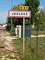 Jaulges-FR-89-panneau agglomération-01.jpg