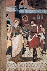 Retaule renaixentista de Santa Agnès de Malanyanes