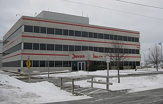 Jazz (airline) - Headquarters of Jazz in Enfield, Nova Scotia, 2011.