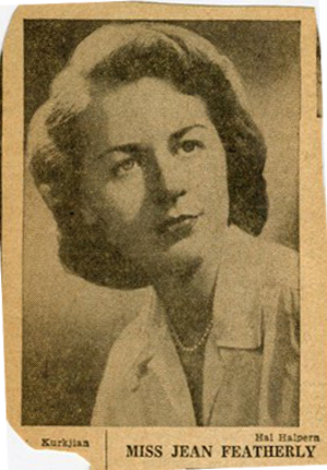 Jean Byrne - Byrne in the early 1950s