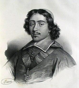 Jean François Paul de Gondi - Jean-François Paul de Gondi as a young cardinal of the church.
