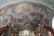 Jelenia Góra Kościół Łaski pw. Świętego Krzyża Malowidła na sklepieniach (1).JPG