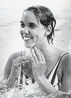 Jenny Kemp American swimmer, Olympic gold medalist, former world record-holder