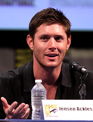Characters of Smallville - Actor Jensen Ackles, who portrayed Jason Teague on the show, at Comic-Con 2011.