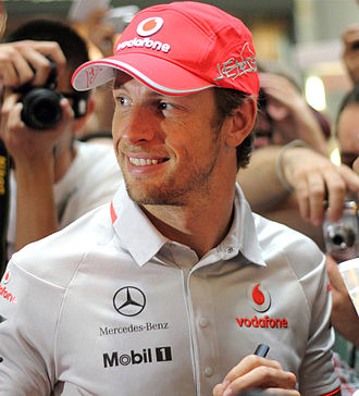 2011 Formula One World Championship - McLaren's Jenson Button came in second behind Vettel by a then record gap of 122 points.