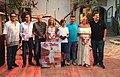 Jesús Turel, Salvador Losa, Gonzalo Calcedo, Carmen Ferrer, Kian Taber Köhler, Juan Marí, Marta Díaz y Ben Clark en la entrega de premios.jpg