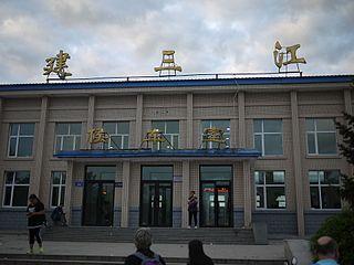 Jiansanjiang Place in Heilongjiang, Peoples Republic of China