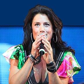 Jill Johnson på Stockholm Pride 2009