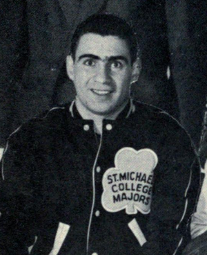 Jim Gregory (ice hockey) - as a trainer of the St. Michaels Majors, 1961