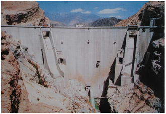 Jiroft Dam - Image: Jiroft Dam Abdolreza Bahremand