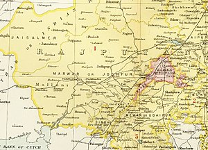 Jodhpur State - Jodhpur State in the Imperial Gazetteer of India